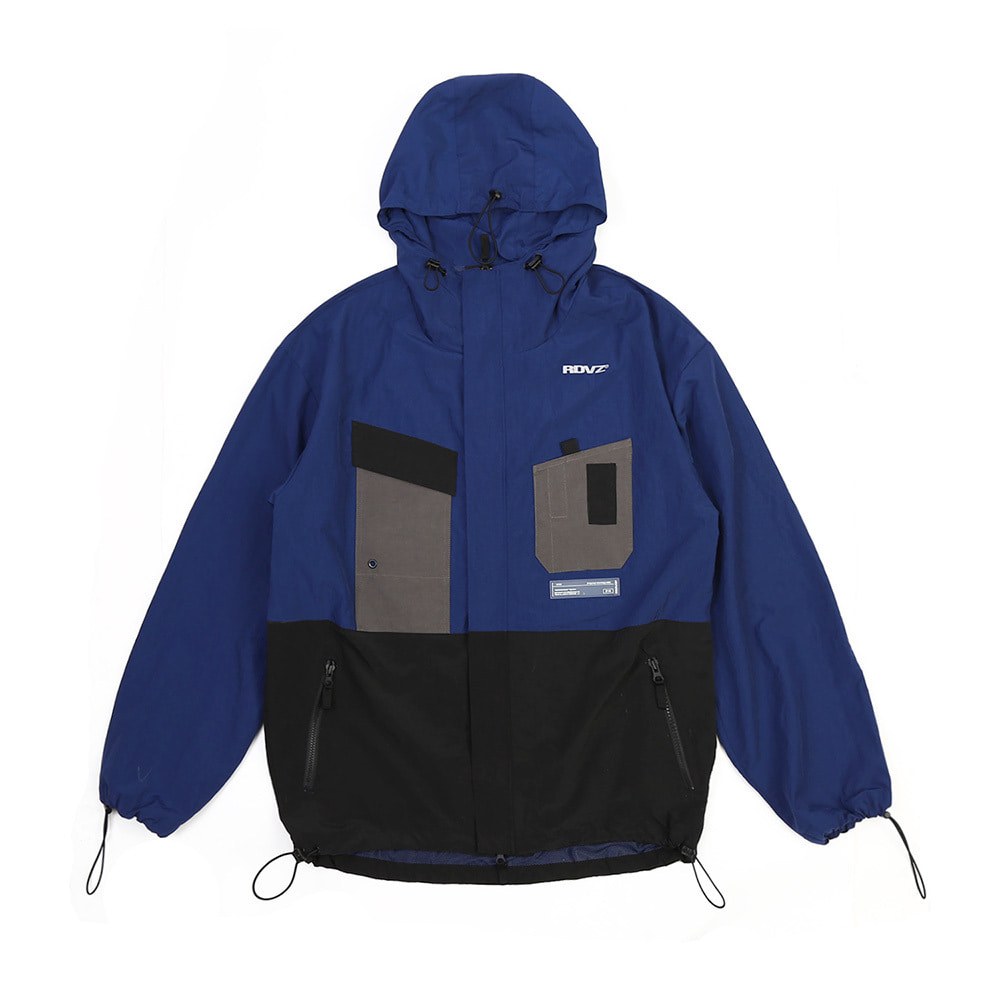 랑데부 UTILITY POCKET WINDSTOPPER BLUE