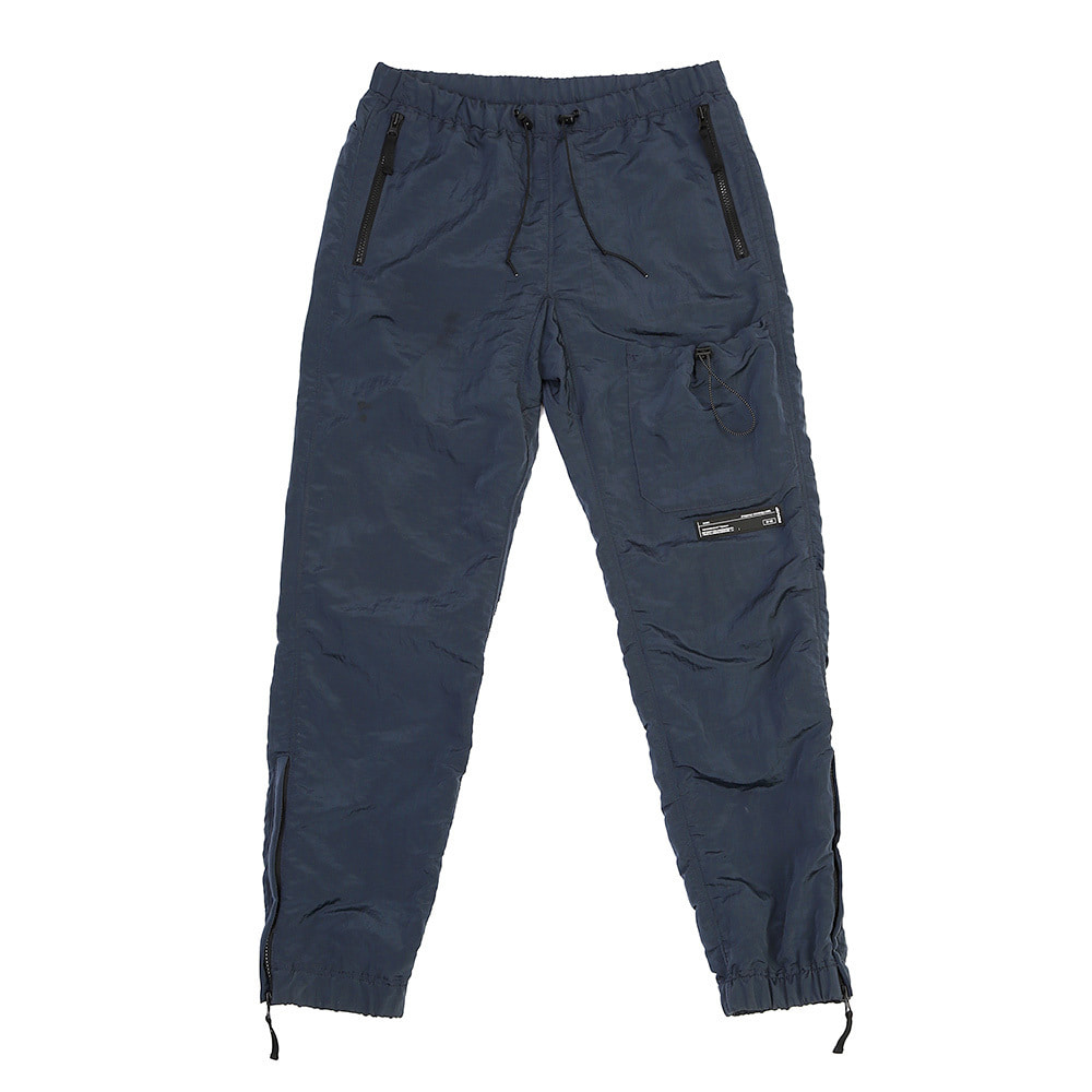 랑데부 STRING POCKET WARM UP PANTS NAVY