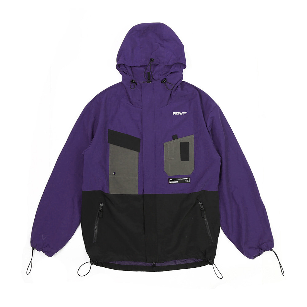랑데부 UTILITY POCKET WINDSTOPPER PURPLE