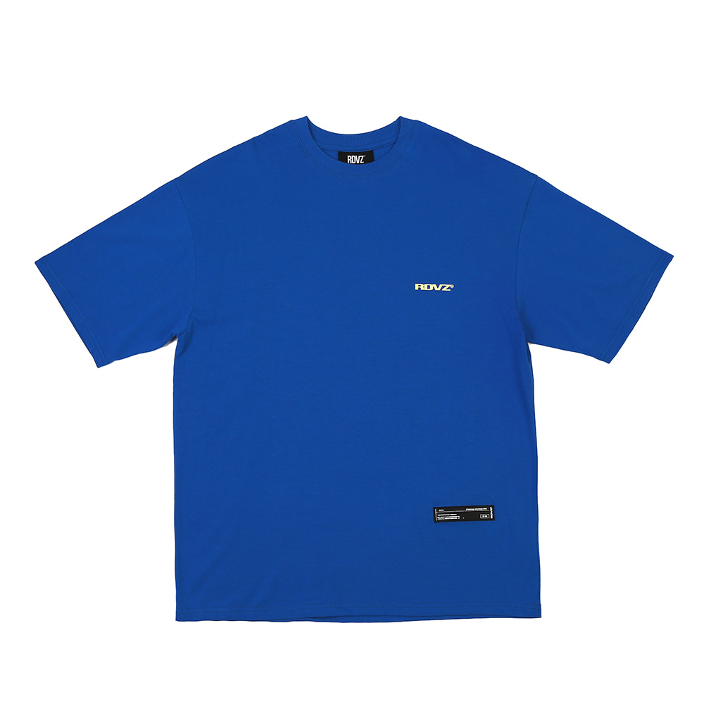 랑데부 SURVEILLANCE T-SHIRTS BLUE