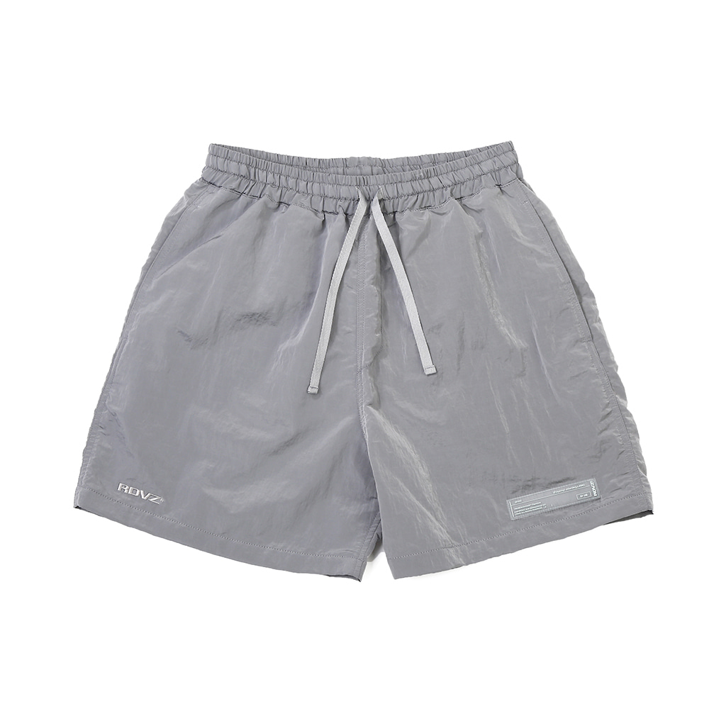 랑데부 METALLIC SURF SHORT LIGHTGREY
