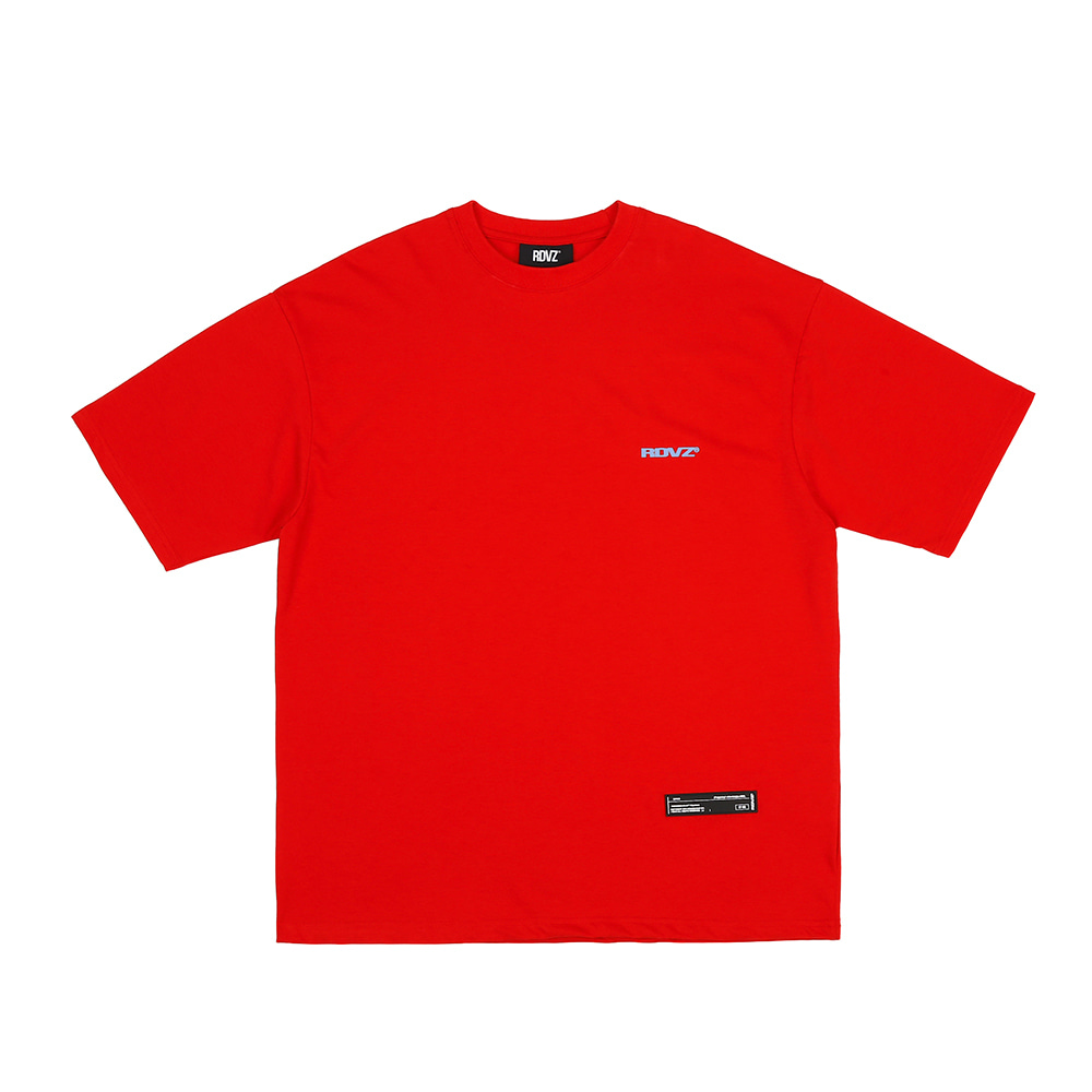 랑데부 SURVEILLANCE T-SHIRTS RED