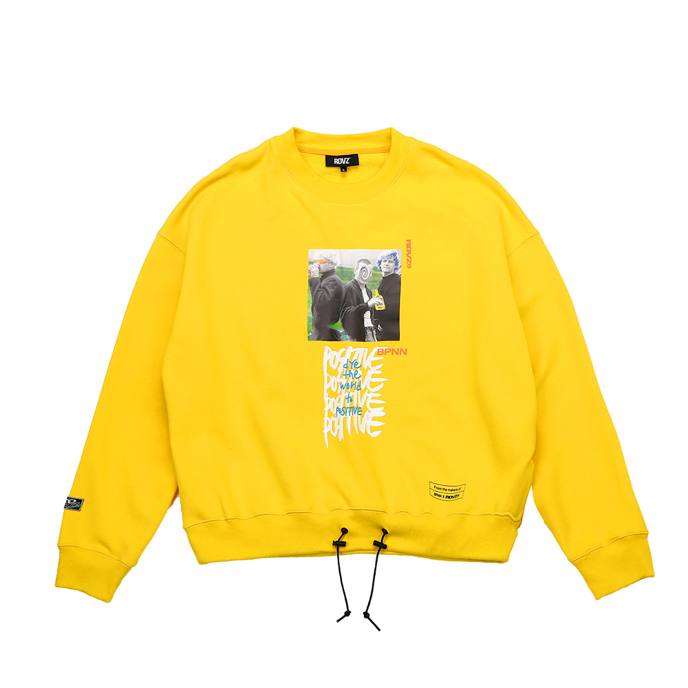 랑데부 BPNN SWEAT TOP YELLOW