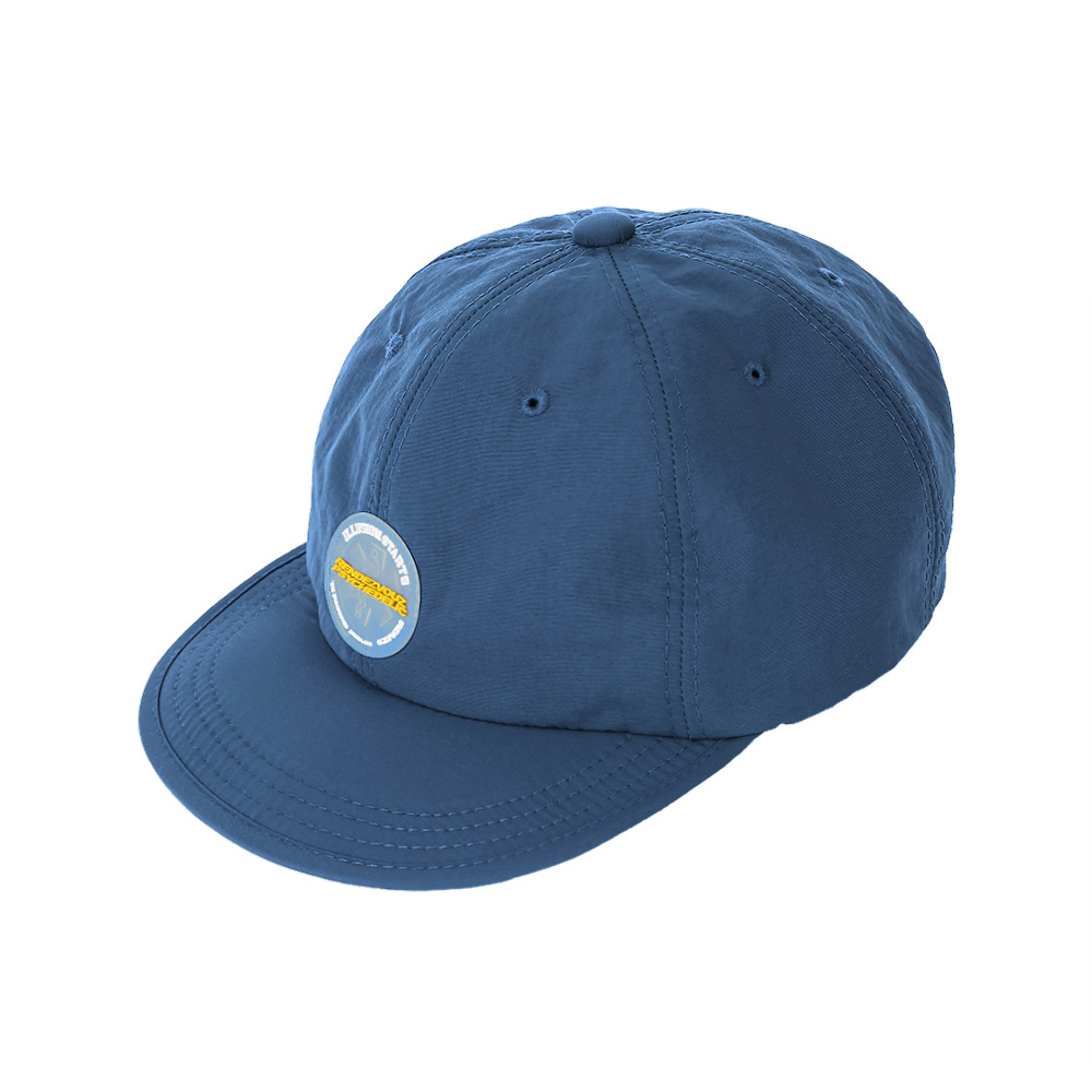 랑데부 CIRCLE LABEL CAP BLUE