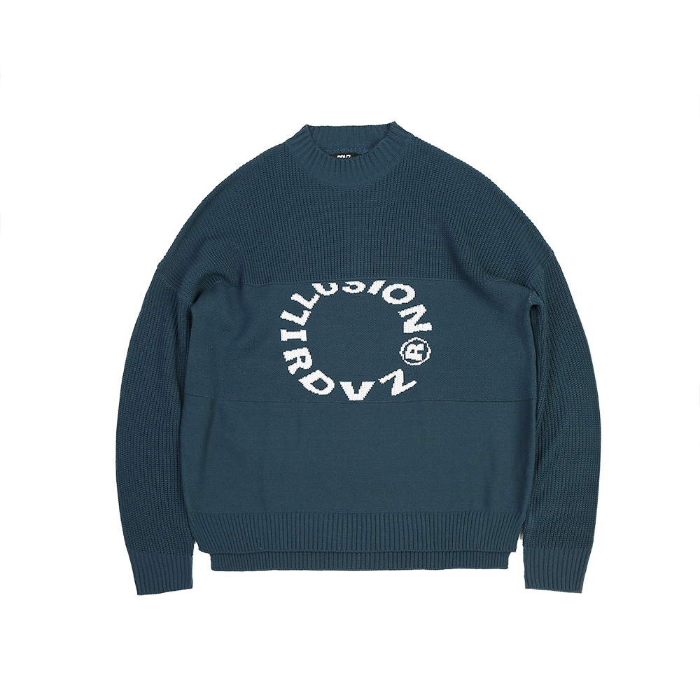 랑데부 ILLUSION KNIT GREEN