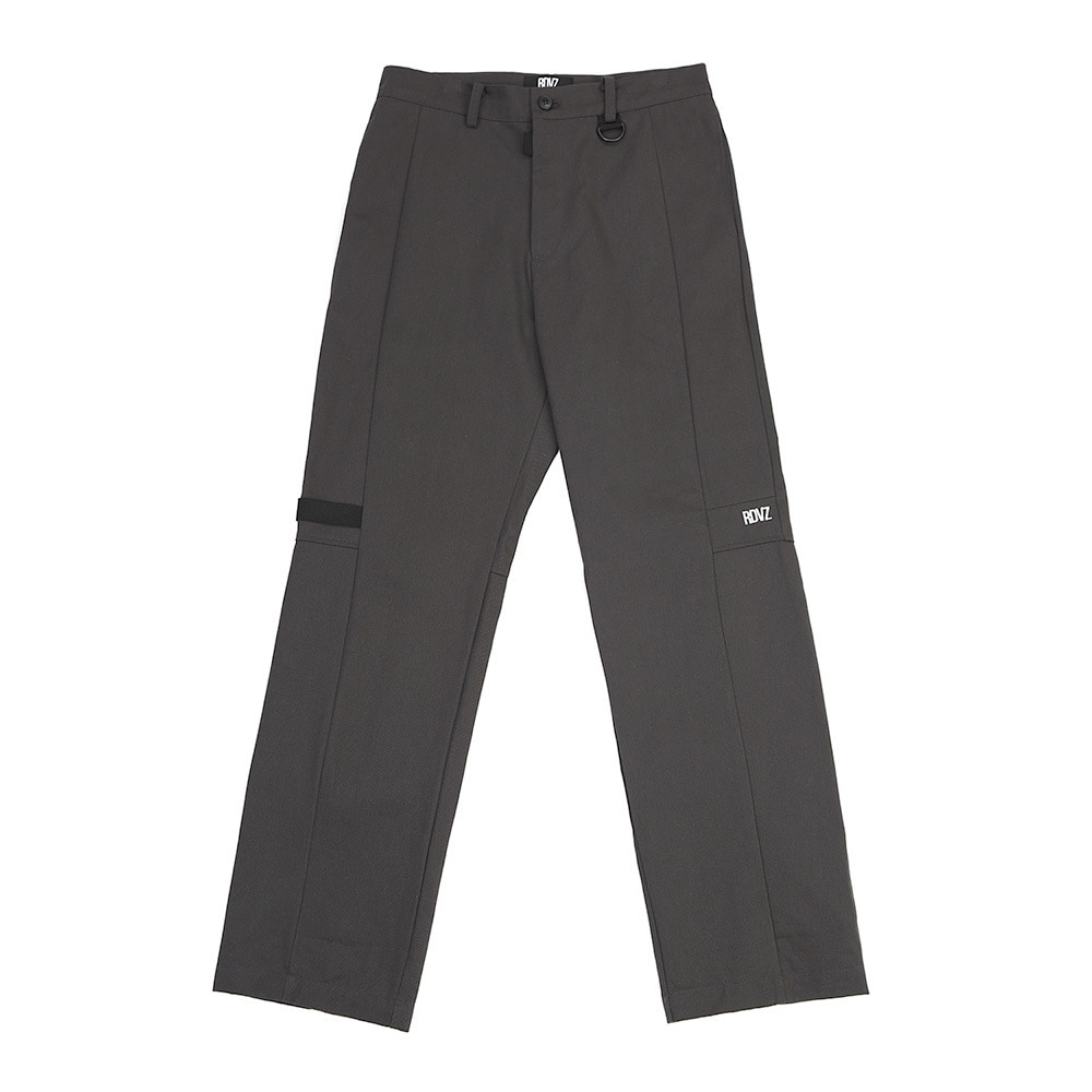 랑데부 TAPE DECO WORK PANTS CHARCOAL