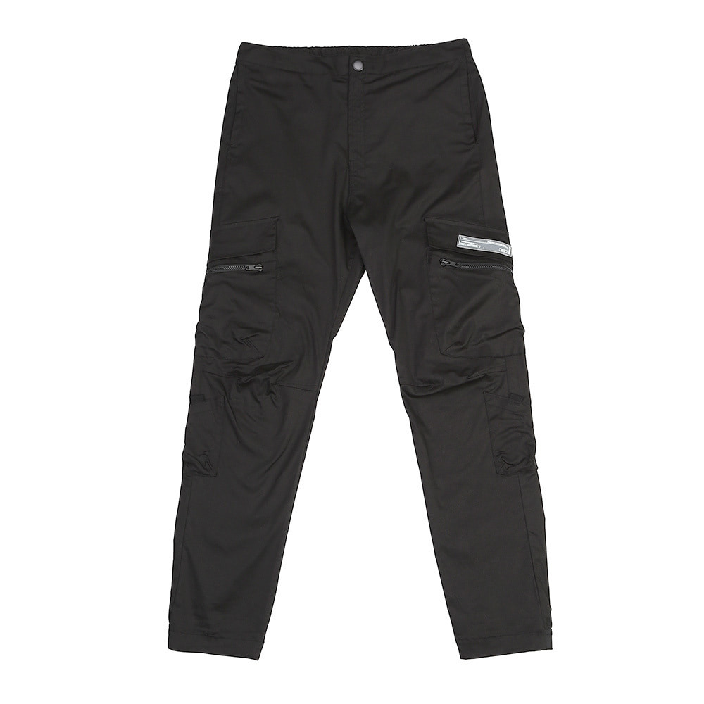 랑데부 UTILITY POCKET CARGO PANTS BLACK