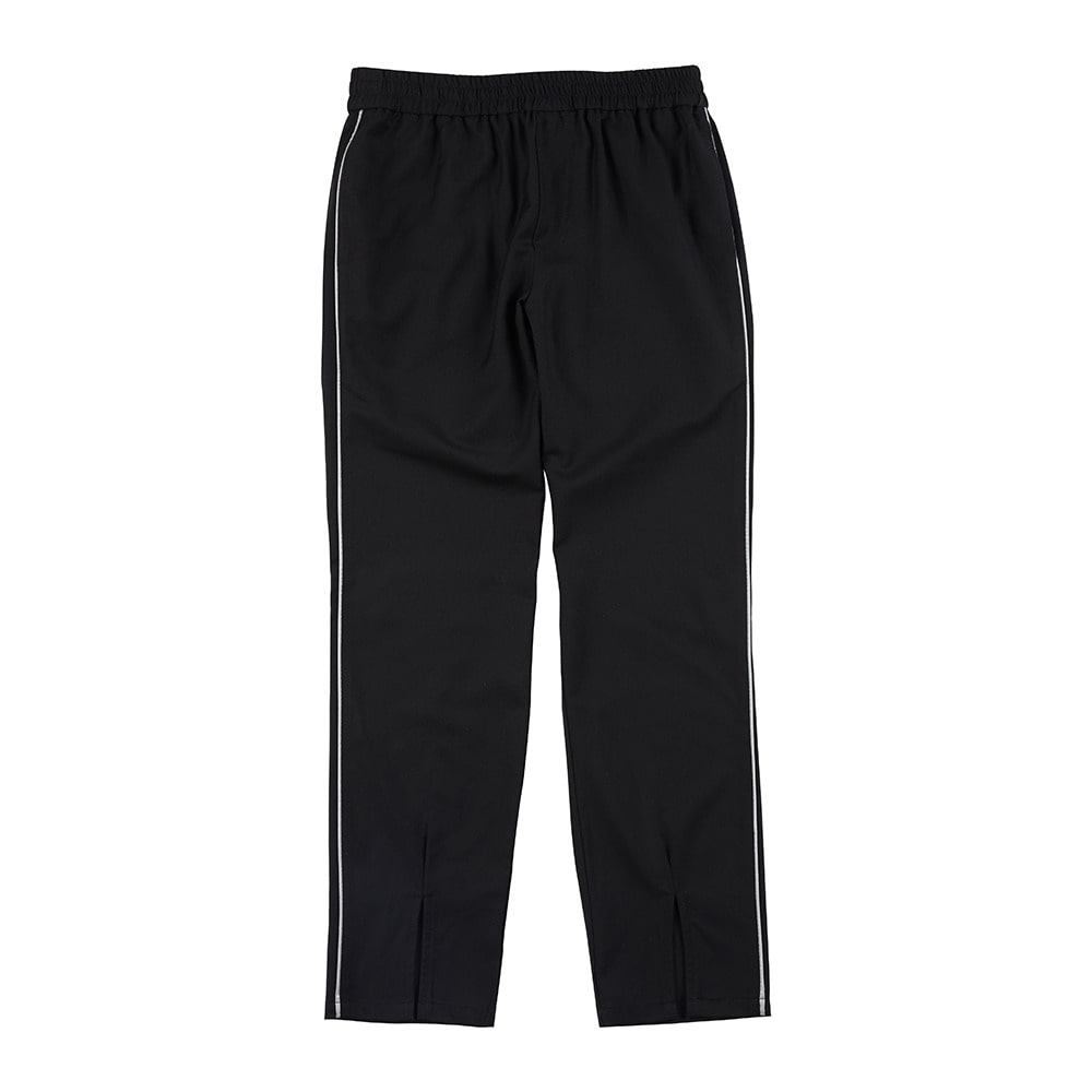 랑데부 FRONT VENT SLACKS BLACK